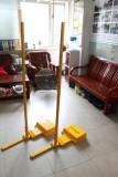 嘉美7047铸铁羽毛球柱