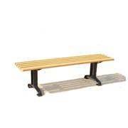塑木公园椅FZS01