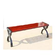 户外木条休闲椅FZ06