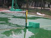 移动式空箱网球柱