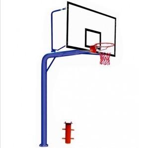 地埋圆管篮球架1012