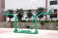 移动篮球架拼装带轮式1003