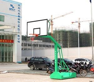 移动篮球架带轮拆装式1003